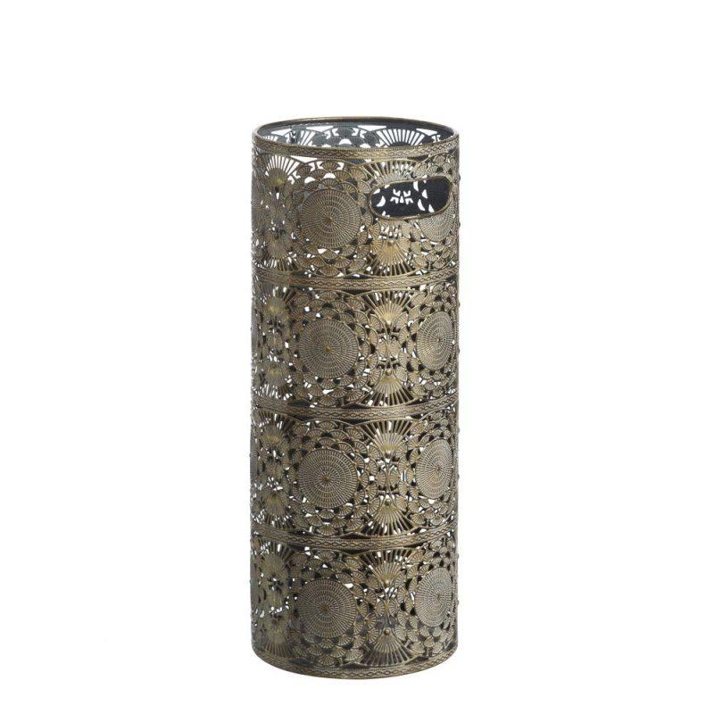 Paragüero metal árabe oro IX100022