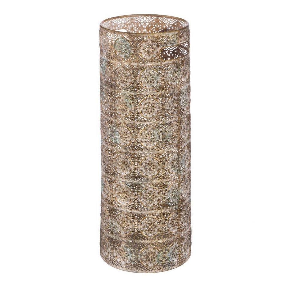 Paragüero metal árabe oro IX103428