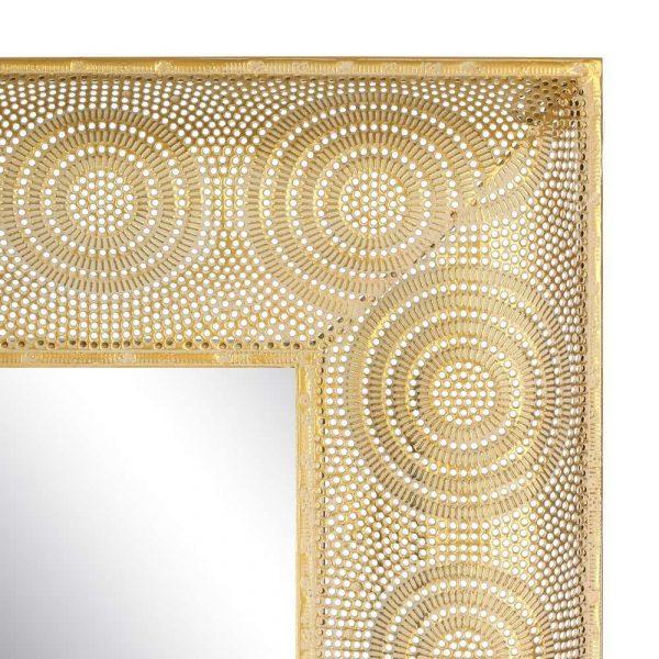 Espejo árabe decorativo dorado 114 cm IX103326