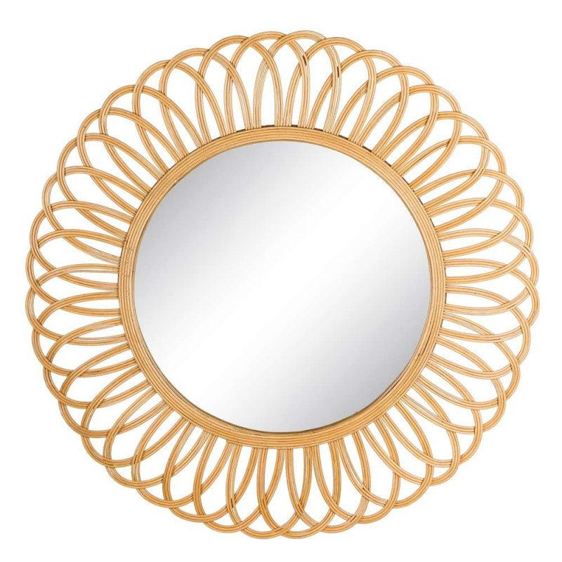 Espejo redondo decorativo 95 cm IX103449