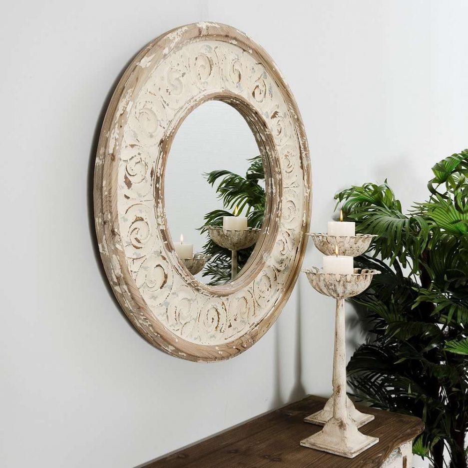 Espejo redondo pared 77 cm IX103870