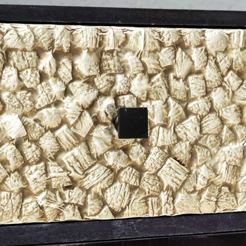 Aparador nórdico vintage Narkaus 3 cajones IX105611