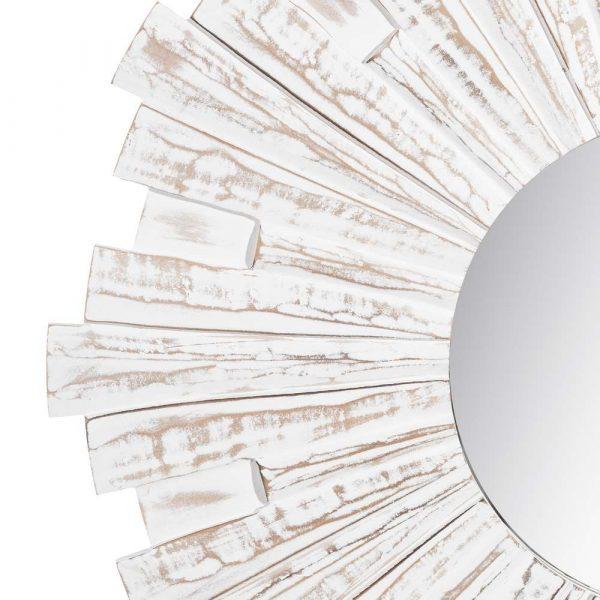Espejo sol blanco 90 cm IX105703