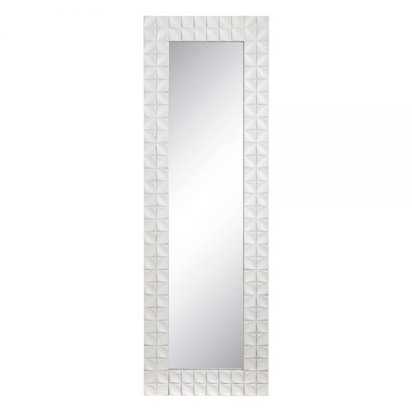 Espejo decorativo nórdico blanco Avesta 180 cm IX106222