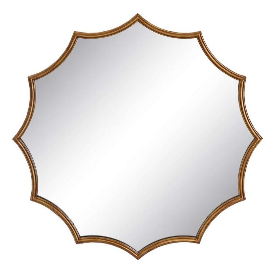 Espejo de pared decorativo 81 cm IX106373