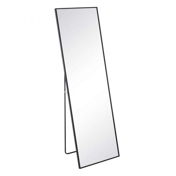 Espejo de pie negro 160 cm IX106736