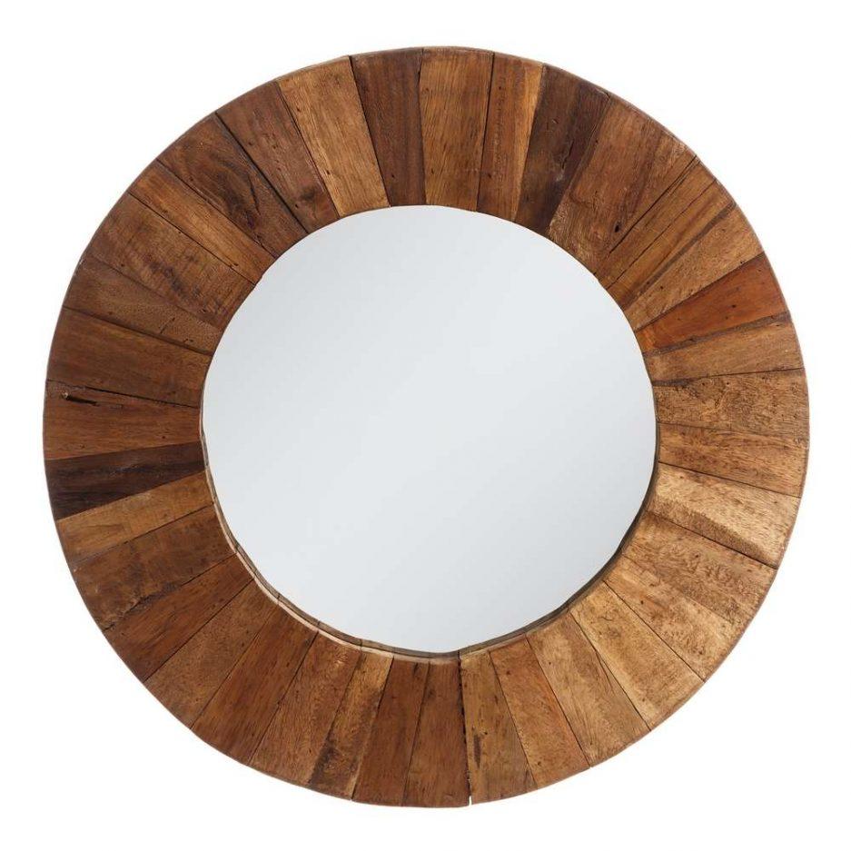 Espejo de pared redondo 60 cm IX106872