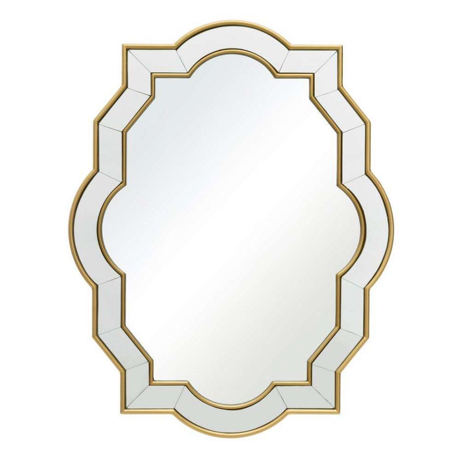 Espejo de pared decorativo 90 cm IX107647