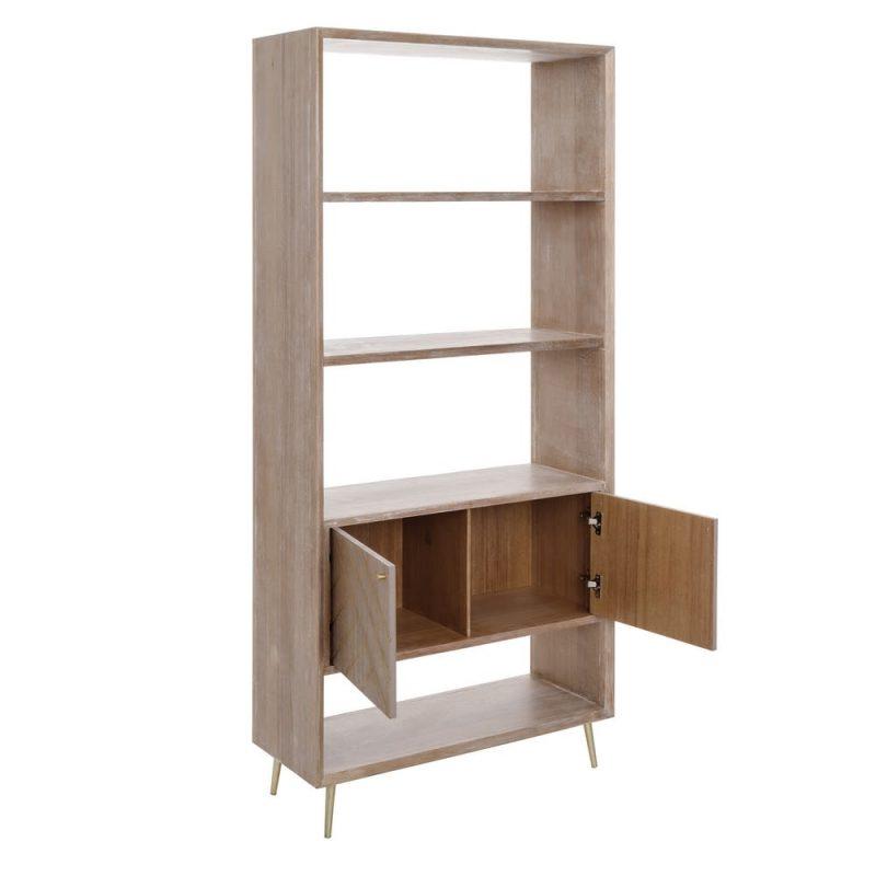 Librería nórdica Kloten 2 puertas IX108177