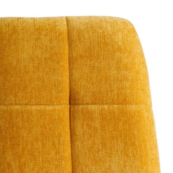 Silla de comedor nórdica amarilla Fyn 2 unidades IX121856