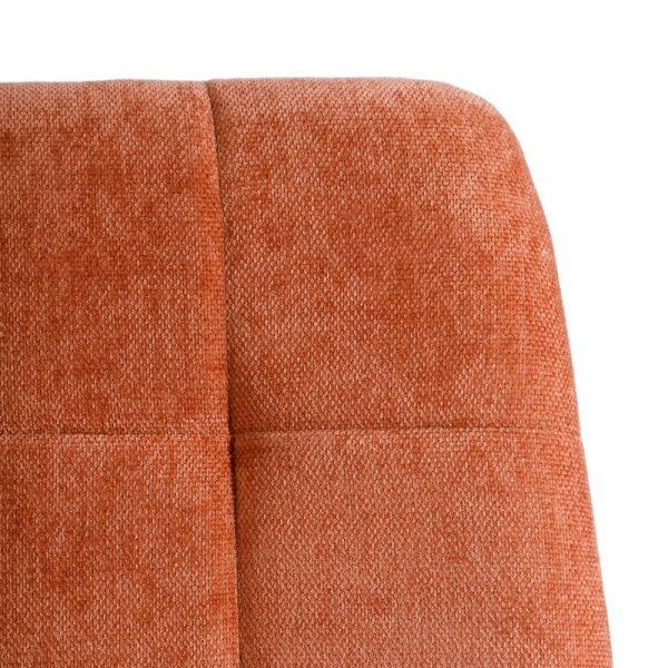 Silla de comedor nórdica naranja Fyn 2 unidades IX121857