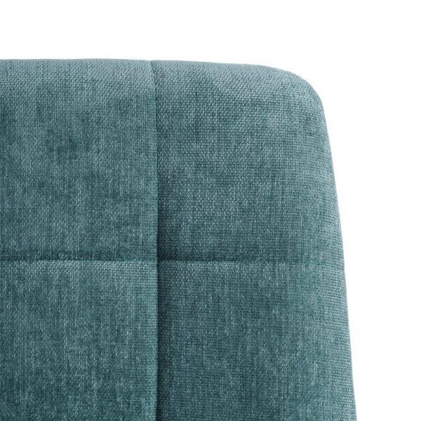 Silla de comedor nórdica verde Fyn 2 unidades IX121858