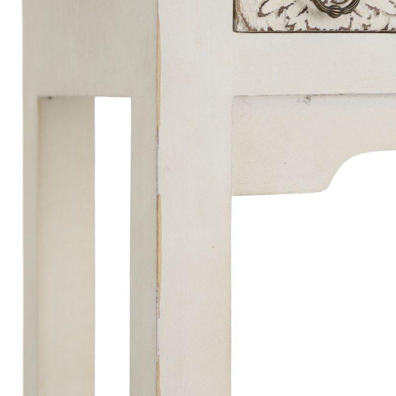 Consola China Oriental 2 Puertas Blanco Rozado IX103161