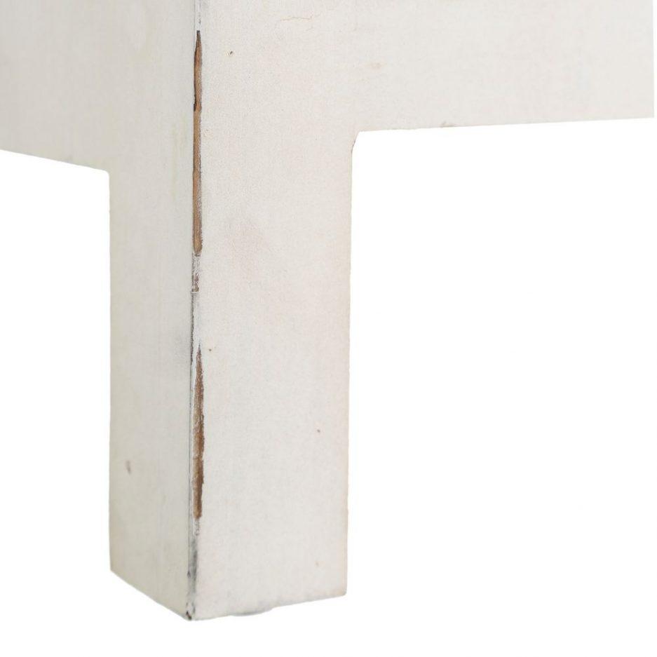 Aparador Chino Oriental 8 Cajones Blanco Rozado IX103165