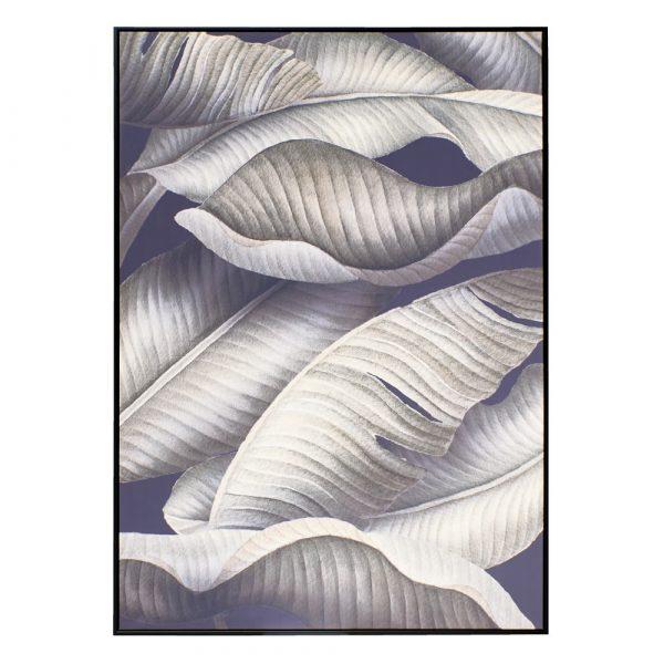 Cuadro naturaleza moderno negro y blanco 140 cm IX151562