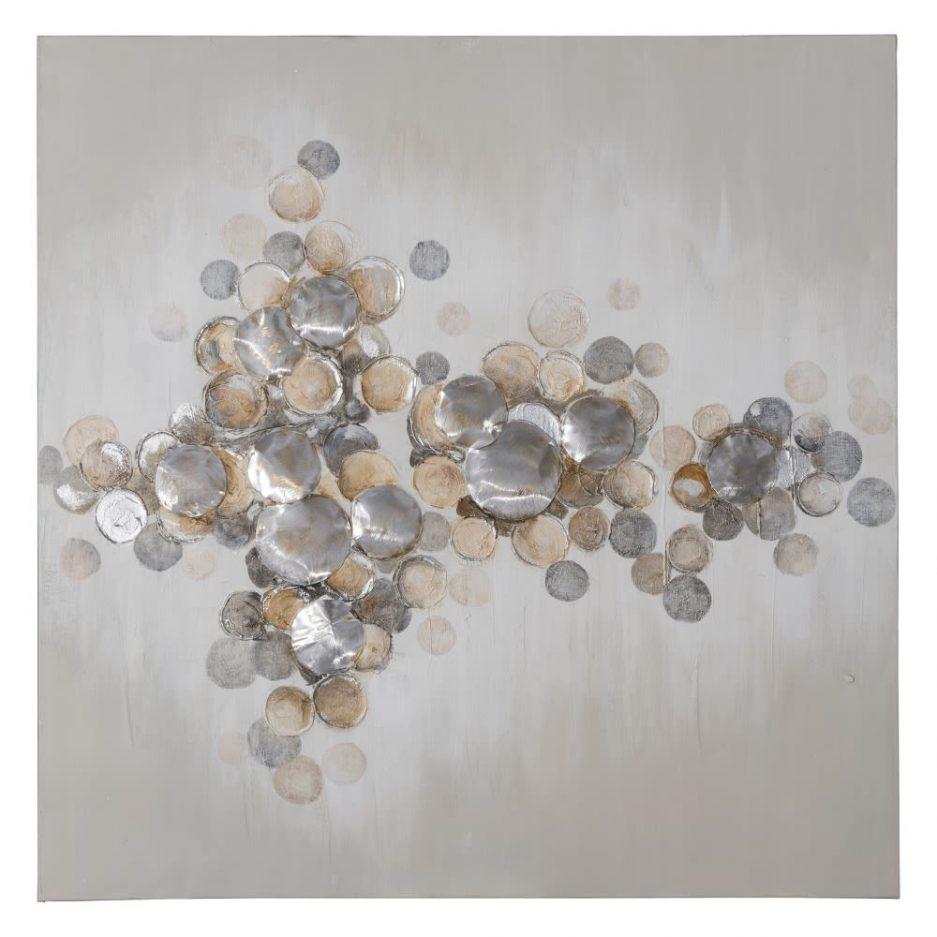 Cuadro decoración pintura abstracta moderna 100 cm IX151614