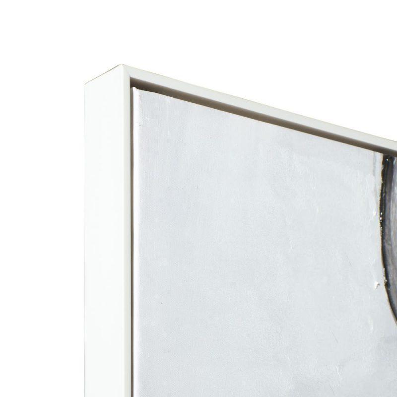 Cuadro blanco y negro abstracto IX151644