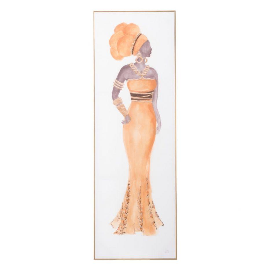 Juego de cuadros mujeres africanas 150 cm IX151681
