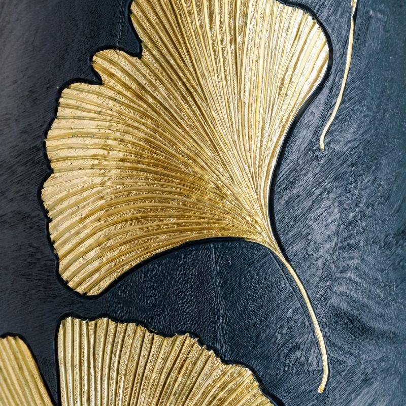 Jarrón de suelo grande moderno dorado 95 cm IX151966