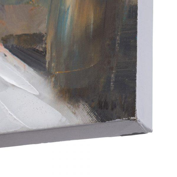 Cuadro paisaje pintura casas 120 cm IX152702