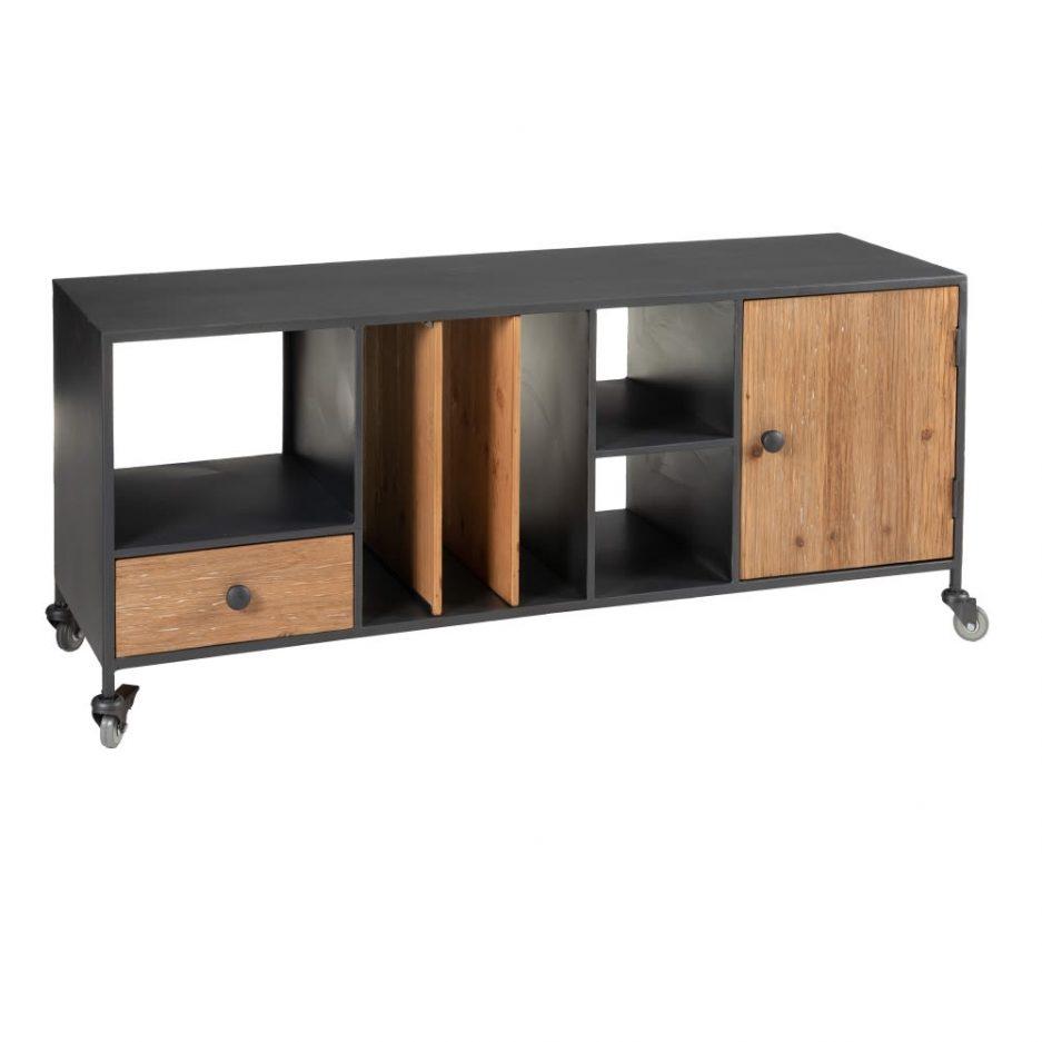 Mueble TV industrial nórdico Nyborg IX153027