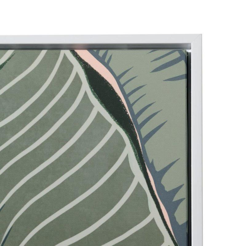 Cuadro naturaleza moderno hojas 120 cm IX153132