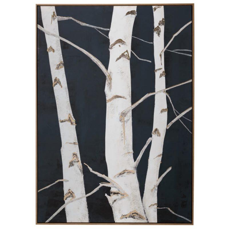 Cuadro naturaleza moderno árboles 140 cm IX153133