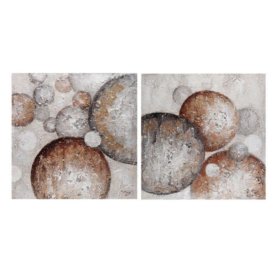 Cuadros abstractos modernos, juego de 2 IX153140