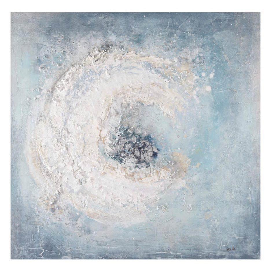 Cuadro abstracto moderno azul IX153141