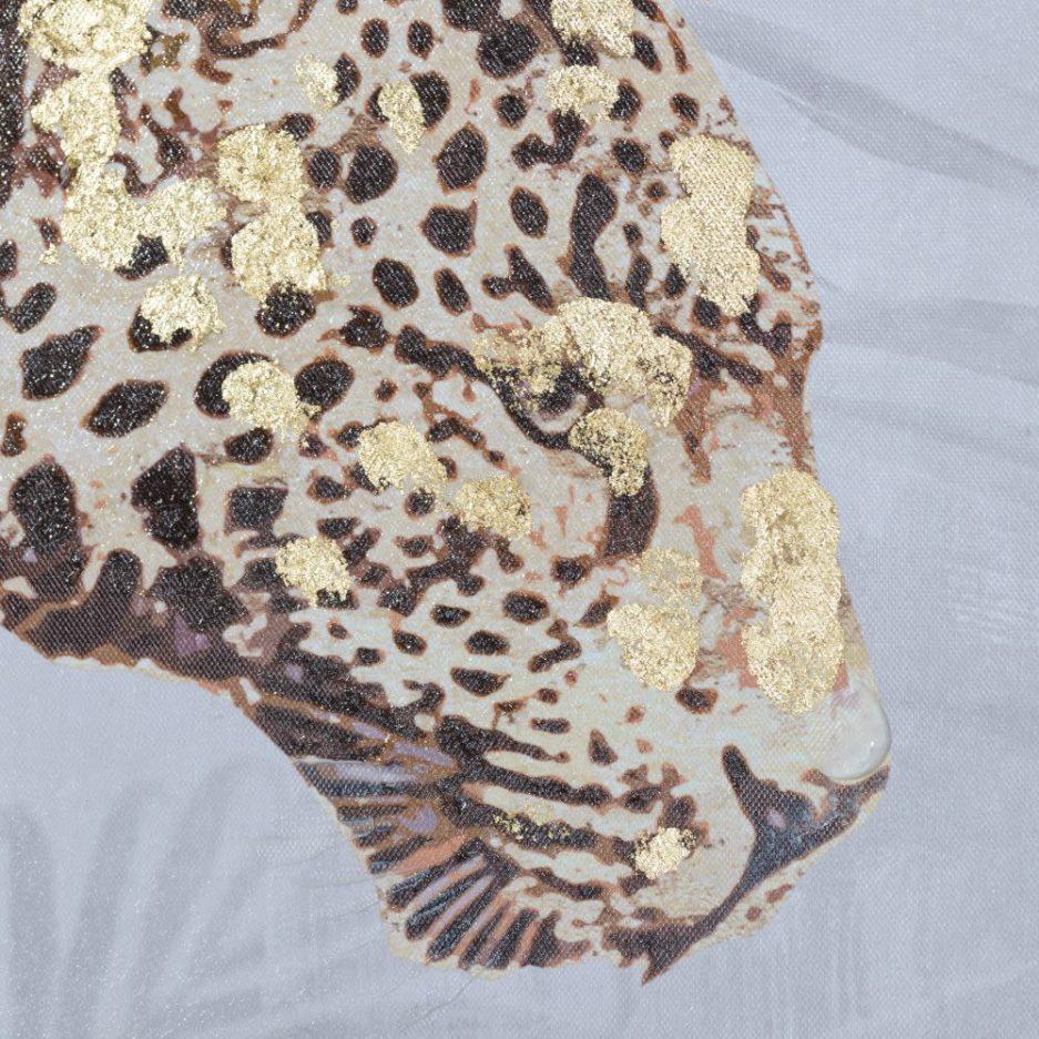 Cuadro de animal leopardo 100 cm IX153180