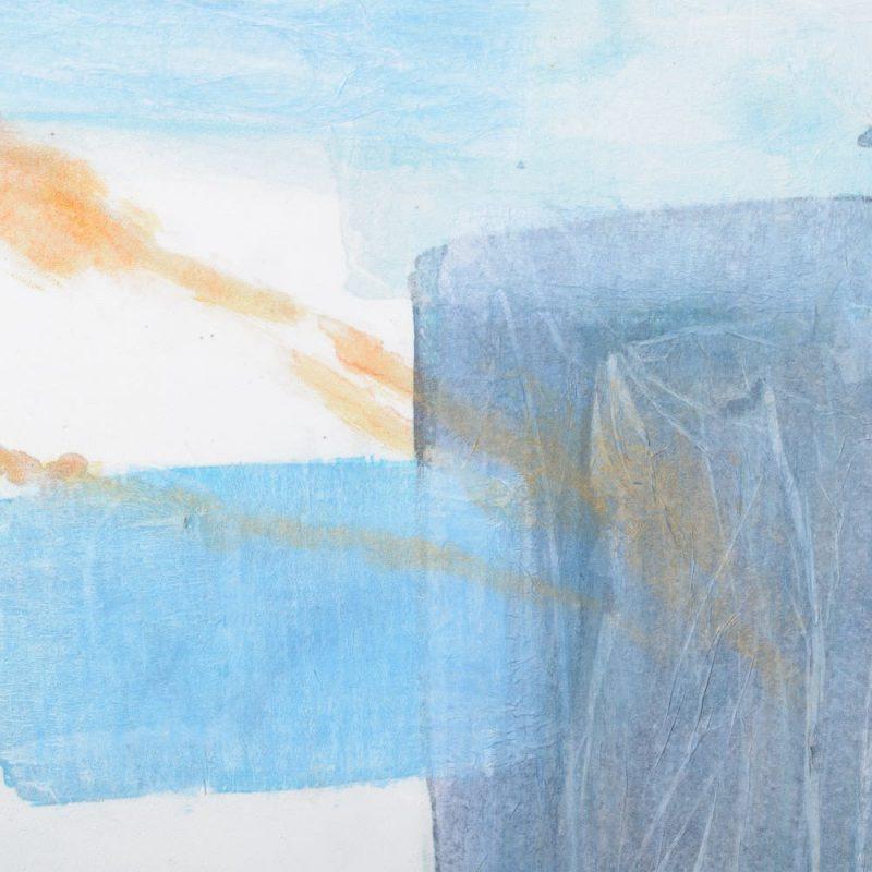 Cuadro decoración abstracto moderno azul IX153195