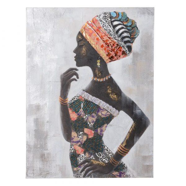 Cuadro mujer africana IX153203