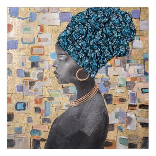 Cuadro mujer africana IX153204