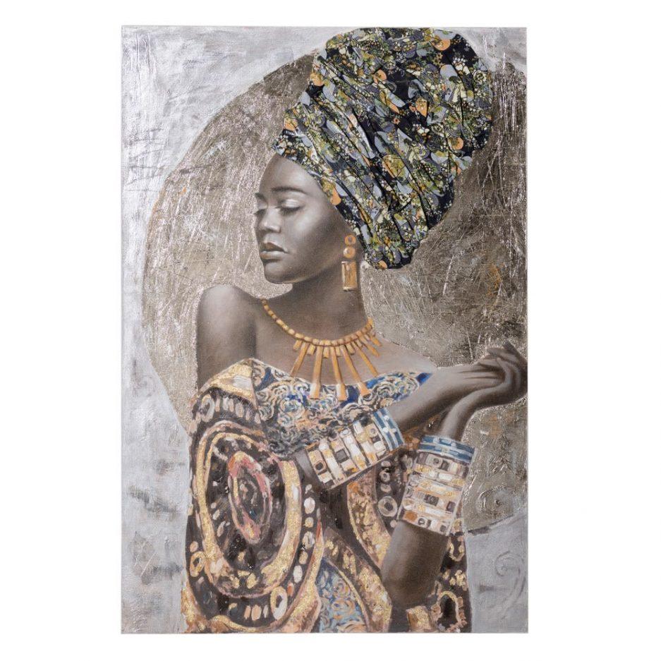 Cuadro África mujer IX153205