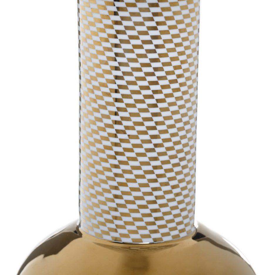 Jarrón decorativo moderno oro 48 cm IX154019