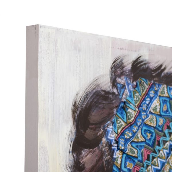 Cuadro África mujer 80 cm IX154361