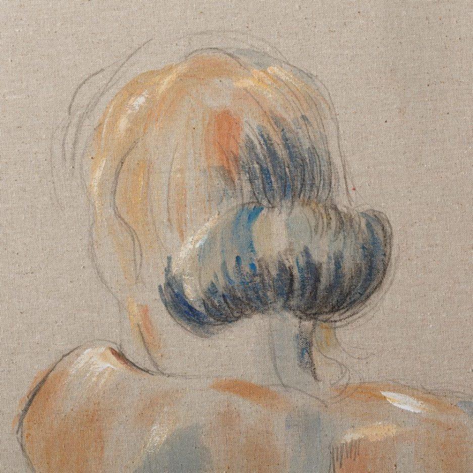 Cuadro decorativo desnudo mujer 80 cm IX108058