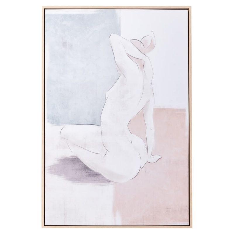 Cuadro decorativo desnudo mujer 92 cm IX153118
