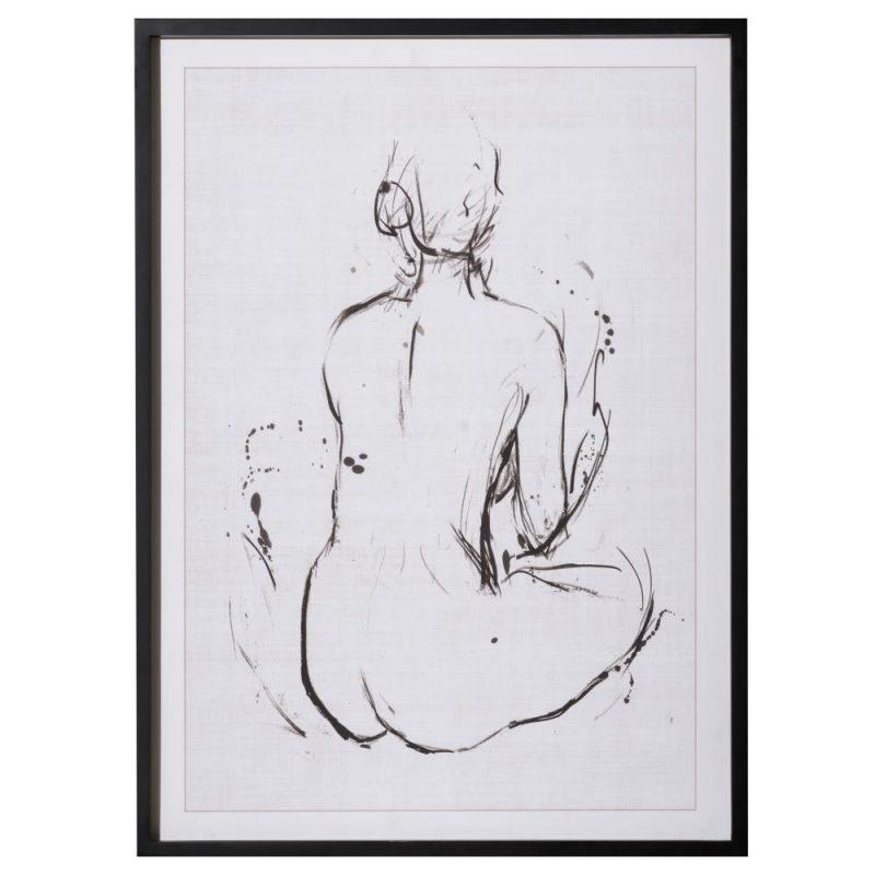 Cuadros decorativos desnudos mujer 95 cm IX153189
