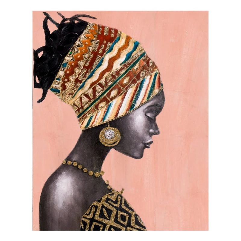 Cuadro África mujer africana 100 cm IX600416