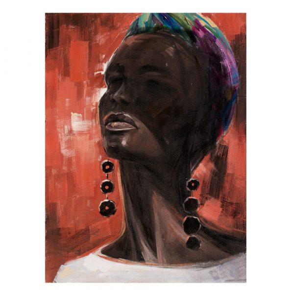 Cuadro África mujer 120 cm IX600419