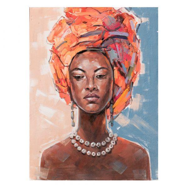 Cuadro África mujer 120 cm IX600420
