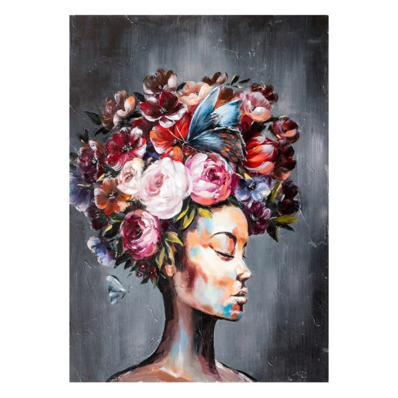 Cuadro África mujer 120 cm IX600421