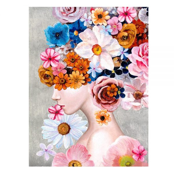 Cuadro mujer impresión 120 cm IX600741