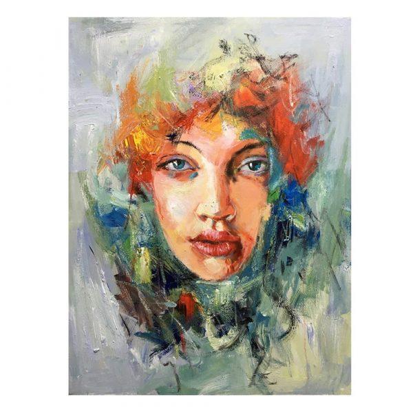 Cuadro mujer decorativo 120 cm IX600744