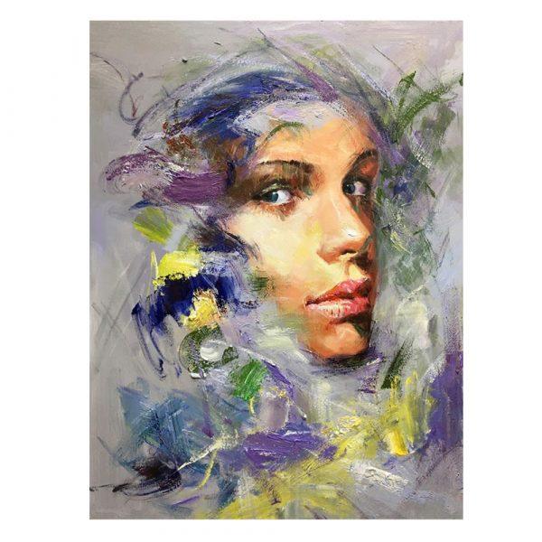 Cuadro mujer decorativo 120 cm IX600745