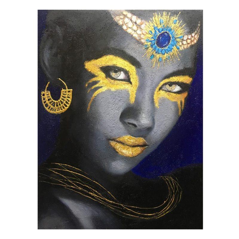 Cuadro mujer africana 100 cm IX600747