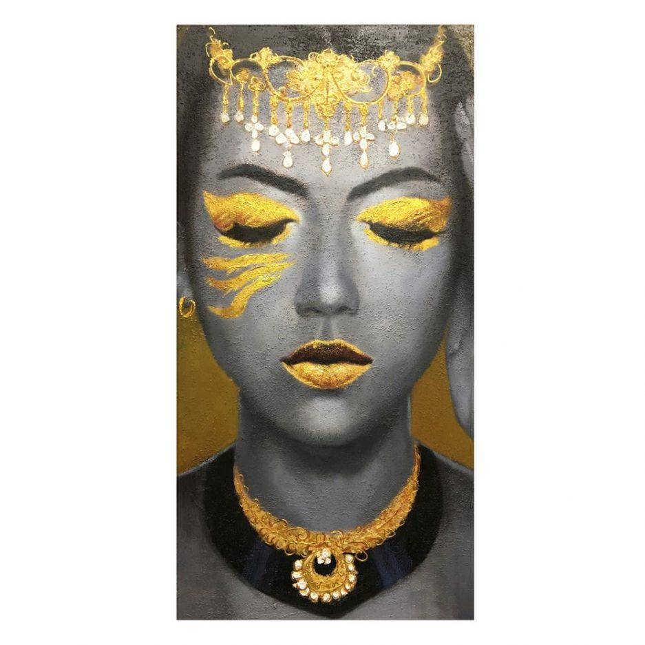 Cuadro mujer africana 120 cm IX600748
